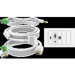 An image showing Lot de dalles et de câbles TC3 15m (49,2pi)