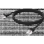 An image showing Professionele Zwart CAT6-kabel 0,5 m (1,6 ft)