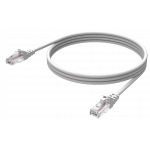 An image showing Professionele witte CAT6-kabel 0,5 m (1,6 ft)