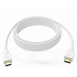 An image showing White HDMI Cable 0.5m (1.6ft)