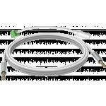 An image showing Câble minijack blanc 15m (49,2pi)