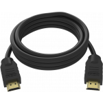An image showing Black HDMI Cable 15m (49.2ft)