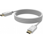 An image showing Câble professionnel blanc DisplayPort vers HDMI 1m (3,2pi)