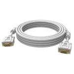 An image showing White VGA Cable 1m (3.2ft)