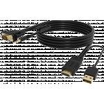 An image showing Câble Noir HDMI vers VGA 2m (6,5pi)