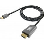 An image showing Braided Mini-DisplayPort Cable