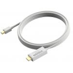 An image showing witte mini-DisplayPort-naar-HDMI-kabel 2 m (6,5 ft)