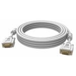 An image showing Professionele witte VGA-kabel 3 m (9,8 ft)