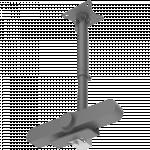 An image showing Accessorio per supporto da soffitto per webcam