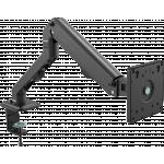 An image showing Braço de secretária preto para monitor 100 × 100