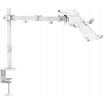 An image showing Wit bureaustandaard met plank
