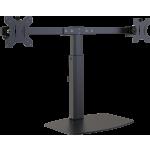 An image showing Bureaustandaard voor twee monitoren van 100 x 100