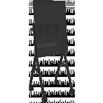 An image showing Black Flipchart-Style Floorstand