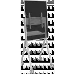 An image showing Supporto da pavimento stile lavagna a fogli mobili per sala riunioni