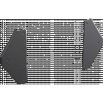 An image showing Adattatori a staffa per mensola per laptop per supporti da pavimento