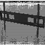 An image showing Robuuste wandbeugel voor flatscreens 1000 × 600