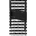 An image showing VFM-W4X6 Heavy Duty Portrait Flat-Panel Wall Mount 400×600