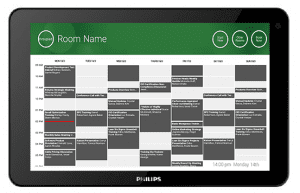 Vision VRS FREESPACE ROOM BOOKING APP FOR PHILIPS AND LG TABLETS
