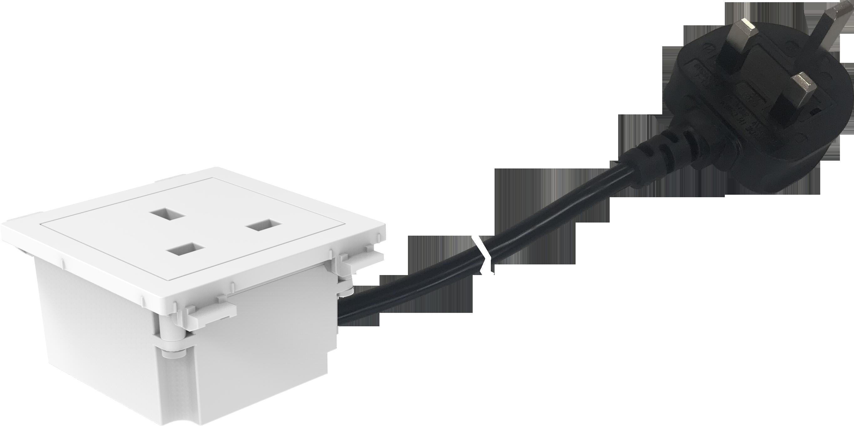 Tc3 Pwruk Uk Power Socket Module Vision Audio Visual Wiring Wall November 22 2018